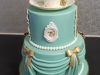Special 75th birthday cake