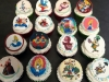Alice in wonderland cup cakes