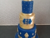 Crown cake for a boy