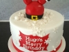 Hugo's Merry Birthday cake