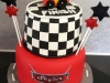 Lightning McQueen  two tiered cake.jpg
