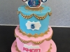 Shimmer & Shine themed cake