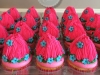 Troll cup cakes