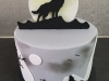 Wolf themed cake