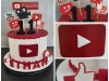 Youtube cake for Ethan