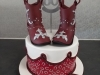 60th birtday cowboy themed cake