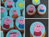Peppa Pig cupcakes Claire
