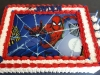 Spiderman edible print cake