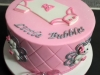 Baby shower cake for Little Bubbles