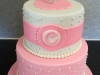 Christening cake for Claire
