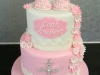 Christening cake for Leah