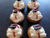 Graduation themed cup cakes