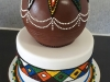 Traditional bead cake